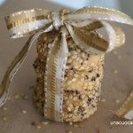 Biscottini gongorzola  sesamo - Diana Grandin Foodblog