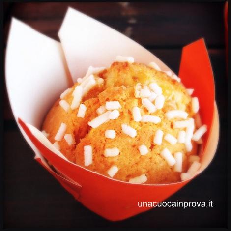 muffin al limone  variegato all'arancia - Diana Grandin - Foodblog